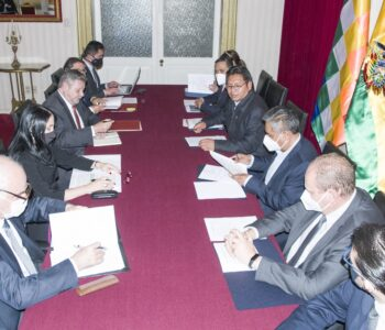 Visita de trabajo a Bolivia de la señora Ministra de Relaciones Exteriores del Perú